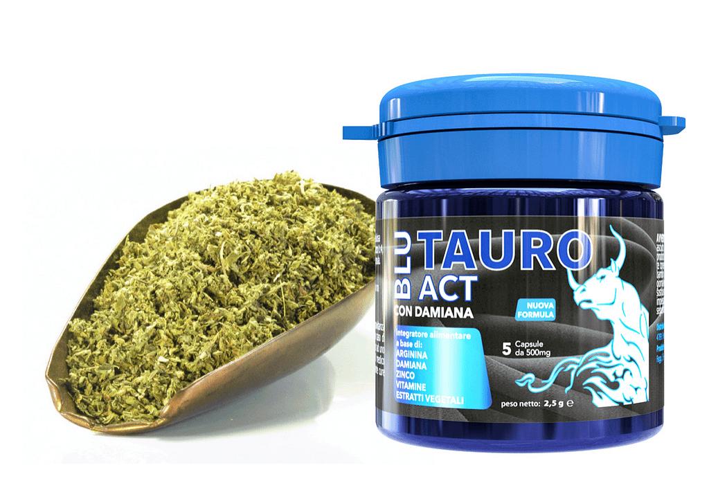 Ingredientes Tauro Blue