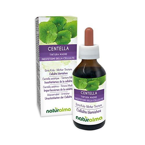 Hierba de Centella (Centella asiatica) Tintura madre no alcohólica naturalmente |  El extracto líquido cae 100 ml |  Complemento alimentario Vegano