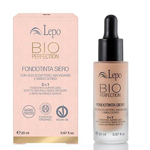 Lepo Bio Perfection Serum Foundation N. 01 Nude - 20 Ml
