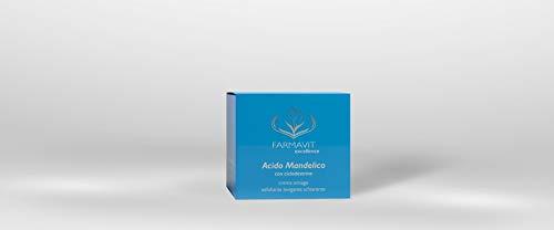 Farmavit Crema Antiarrugas con Ácido mandélico 50 ml exfoliante, suavizante y aligerando