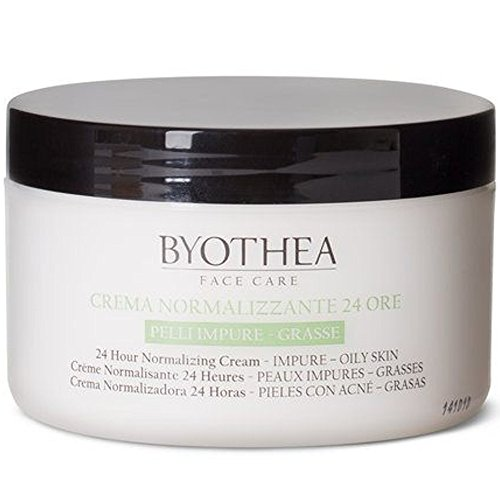 Crema normalizadora 24 horas 200 ml Cuidado de la cara Byothea ® Extracto de sauce Ácido mandélico