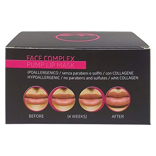 Face Complex - Máscara de labios con efecto volumizante Máscara de labios Pump con 5 máscaras de 7gr.
