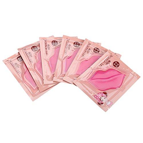 15 pcs Máscara para el cuidado de los labios con colágeno de vidrio Hidratante hidratante natural hidratante adecuado para uso doméstico (2 #)