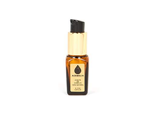 Aceite de camelia puro producido en Europa - cosmético natural - el mejor aceite de camelia - 10 ml