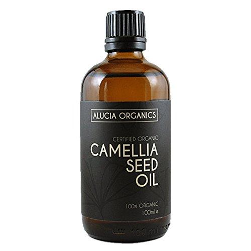 Aceite de semillas de camelia orgánico certificado aluco Organics 100 ml