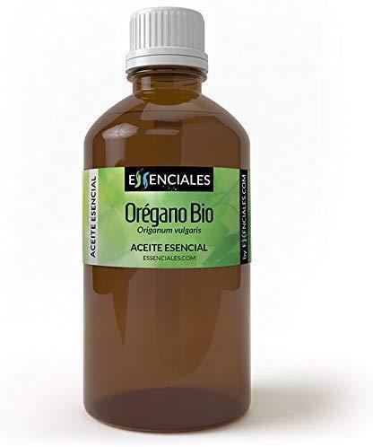Essential - Aceite esencial de orégano orgánico, 100% puro, natural y ecológico, 500 ml |  Aceite esencial de Origanum Vulgare, primera prensa en frío