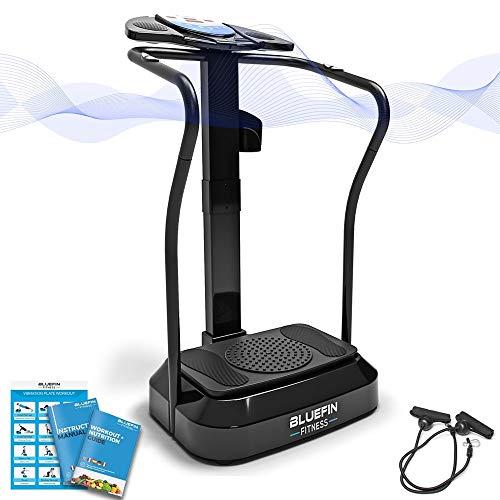 Bluefin Fitness Bluefin PRO: placa de vibración para adelgazar |  Gimnasia casera con gran ritmo |  Consola de formación completa |  Rotación de caderas de 360 ° |  ...