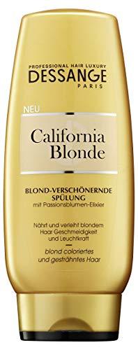 Acondicionador de lavado para cabellos rubios, Dessange California Blonde, 200 ml
