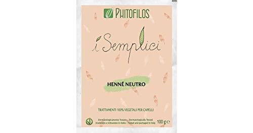 Phitofilos Henne 'NEUTRO Y Semplici 100gr Tónico de pulido vegetal 100%