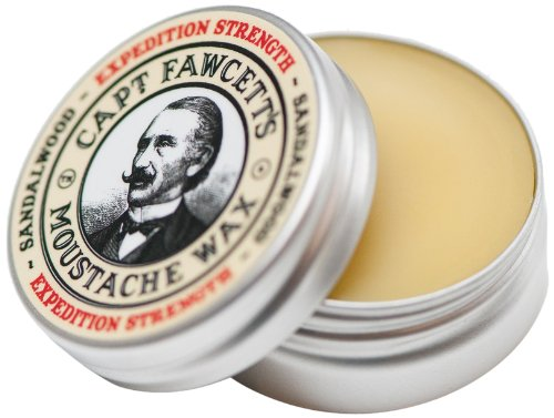 Captain Fawcett Expedition Force Moustache Wax for firma Gripe 15ml, 1 paquete (1 x 15ml)