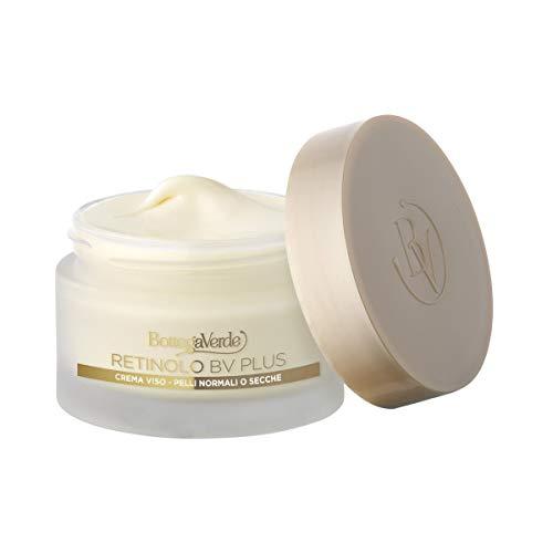 Retinol Bv Plus - Crema facial - anti-envejecimiento, elástica - con Pro-Retinol, colágeno vegetal y ácido hialurónico (50 ml) - piel normal o seca