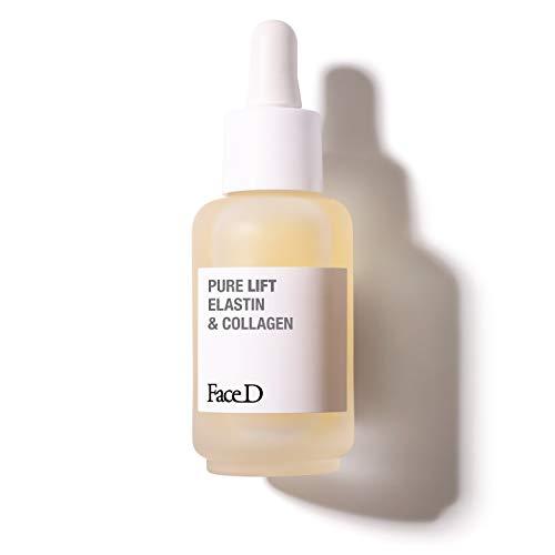 Faced - Pure Lift, suero activo puro con elastina y colágeno, 30 ml