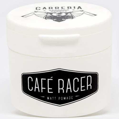 Cafe Racer matt Pomade, cera de pelo de efecto natural de larga duración de 80 ml
