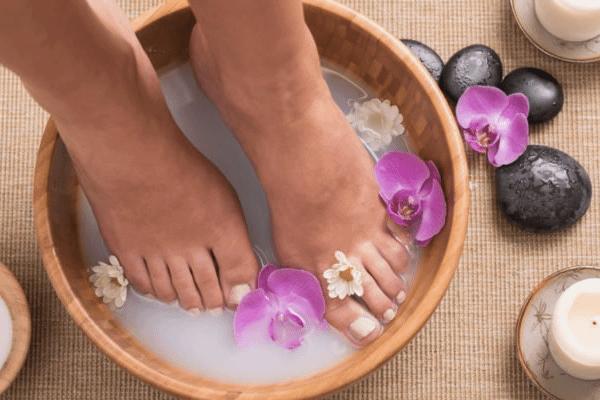 Baño de pies