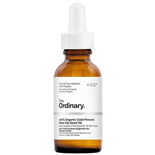 El Ordinario: aceite de semillas de rosa 100% orgánico, aceite de rosa mosqueta 30 ml