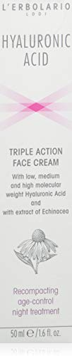 Crema nocturna El erbolario con efecto triple, 1 paquete (1 X 50 ML)