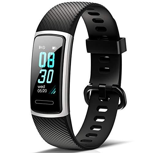 Fitness Tracker HR Activity Tracker per Battito Cardiaco, Calorie, Contapassi, Monitoraggio del Sonno, Allerta per Sedentarietà, Messaggi,14 modalità di Sport,...