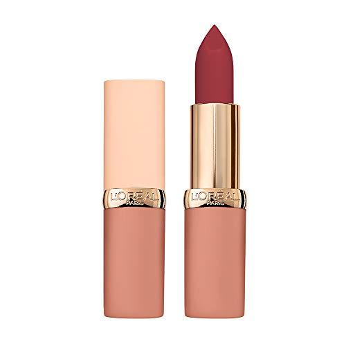 L'Oréal Paris Labios de labios de larga duración Color Riche Free the Nudes, Labios no secos, Confort duradero en los labios, 06 Sin vacilaciones, 1 paquete
