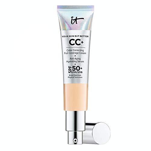 Tu piel pero mejor crema CC con SPF 50+, media 1,08 fl oz por It Cosmetics