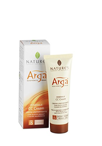 Bios Line Arga 'Cc Cream, Clear Medium, SPF 15-20 g