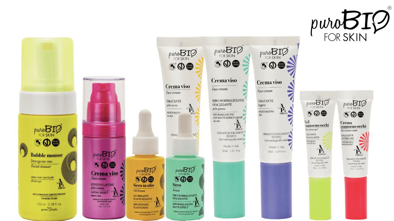 Purobio para productos para la piel