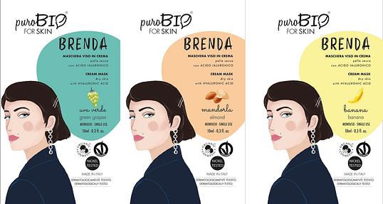 Máscara facial Brenda Purobio For Skin