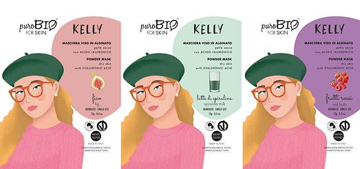 Máscara facial Kelly Purobio For Skin