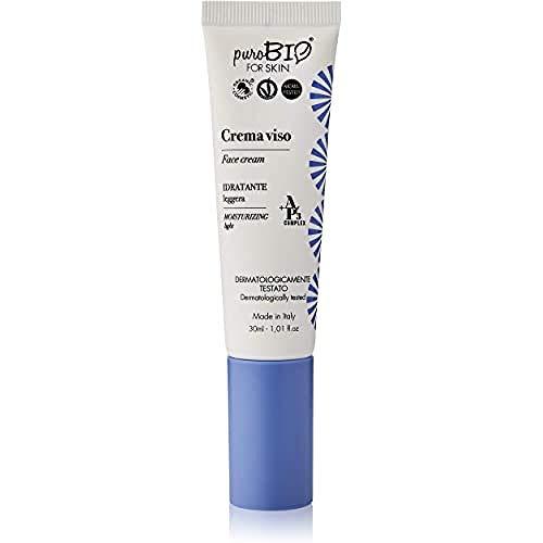 Crema facial hidratante ligera Purobio - 30 Ml