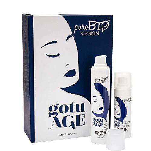 PUROBIO Gotuage - Kit anti-edad Purobio para la piel - 80 ml