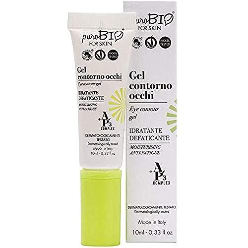Gel contorno de ojos Purobio Anti-fatiga hidratante - 10 Ml