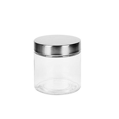BESTOMZ Bote de vidrio sellado con tapón de rosca de 800 ml