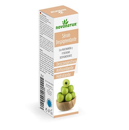 Suero despigmentante con colágeno hidrolizado, tratamiento intensivo anti-mancha con alfa-hidroxiácidos Gayuba, vitaminas y alantoína, antimancha, hidratante y ...