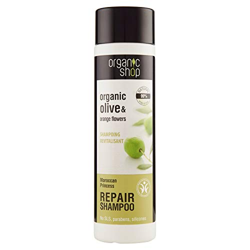 Champú Organic Restructuring Shampoo Flores de oliva y naranja - 280 ml