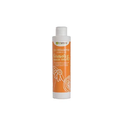 Champú orgánico de girasol y naranja dulce 200 ml Linaza - LaSaponaria