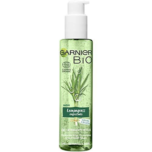 Gel limpiador refrescante de limonero Bio Garnier, gel limpiador natural orgánico enriquecido con limonera refrescante, 150, 1 paquete