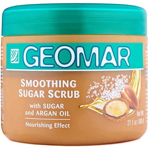 Exfoliante para la piel suavizante azúcar Geomar - 600 gr