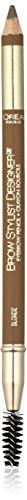 L'Oreal Paris Brow Stylist Designer Brow Pencil, rubia 305, 0ml, 305 rubia