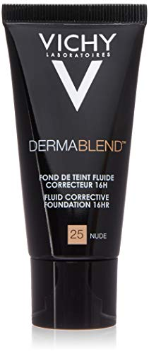 Vichy Dermablend Correction Foundation, 25 Nude - 30 ml