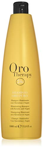 Terapia Fanola Oro: champú iluminador de oro puro, 1000 ml