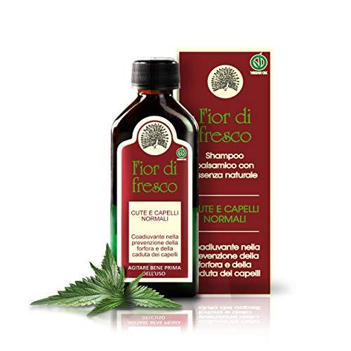 Mary Rose Fior di Fresco - Champú anti-caspa y anti-caída de cabello para hombres y mujeres, para todos los tipos de cabello, sin sal - 100 ml de concentrado, diluible en 400 ml