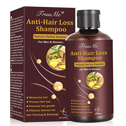 Champú anti pérdida de cabello, rebrote del cabello, anti pérdida de cabello, champú de rebrote del cabello para hombre, tratamiento de la pérdida de cabello, champú de rebrote del cabello, prevenir la pérdida de cabello ...