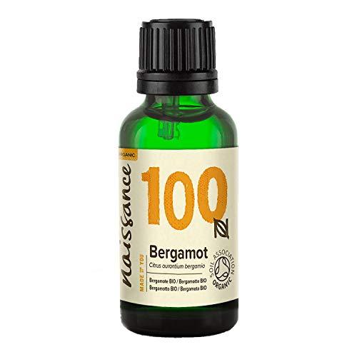 Aceite de bergamota orgánico Naissance - Aceite esencial 100% puro - Orgánico certificado - 30 ml