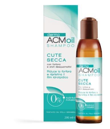Aceite DermoACM SHAMPOO delicado para PIEL SECA con picor, caspa y descamación, con poco poder espumoso.  Acción de reequilibrio, reduce la caspa ...