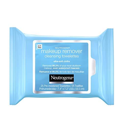 Neutrogena, desmaquillante, toallas limpiadoras, paquete de recarga, 25 piezas (etiqueta italiana no garantizada)