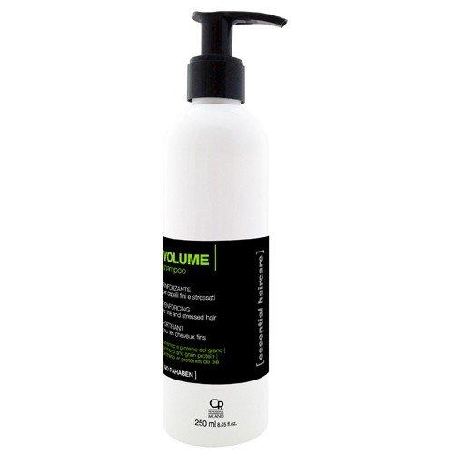 Essential Haircare - Shampoo Volume - Tratamiento profesional para volumizante pelo estresados, incluso delgados - 250 ml