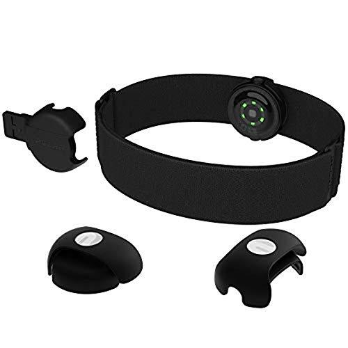 Polar OH1, sensor de frecuencia cardíaca del brazo, conectividad Bluetooth y Ant + Unisex-Adulto, negro, de talla única