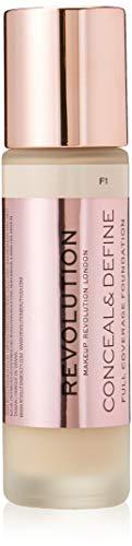 Makeup Revolution: disimula y disimula la base F1