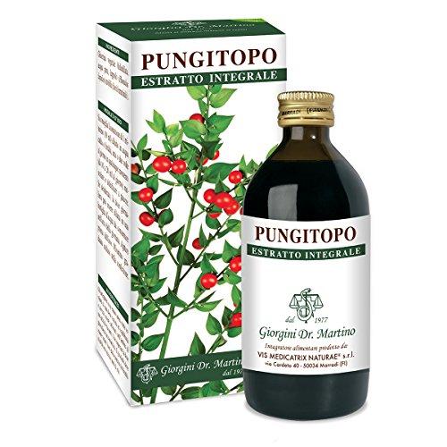 Suplemento alimenticio Dr.  Giorgini, extracto de acebo líquido integral sin alcohol - 200 ml