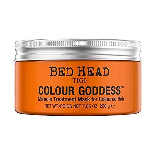 TIGI Máscara de tratamiento de milagros de la Diosa Color de la cabeza de la cama para el pelo de colores