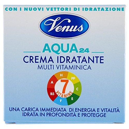 Venus - Acqua 24, Crema hidratante multivitamínico, 50 ml